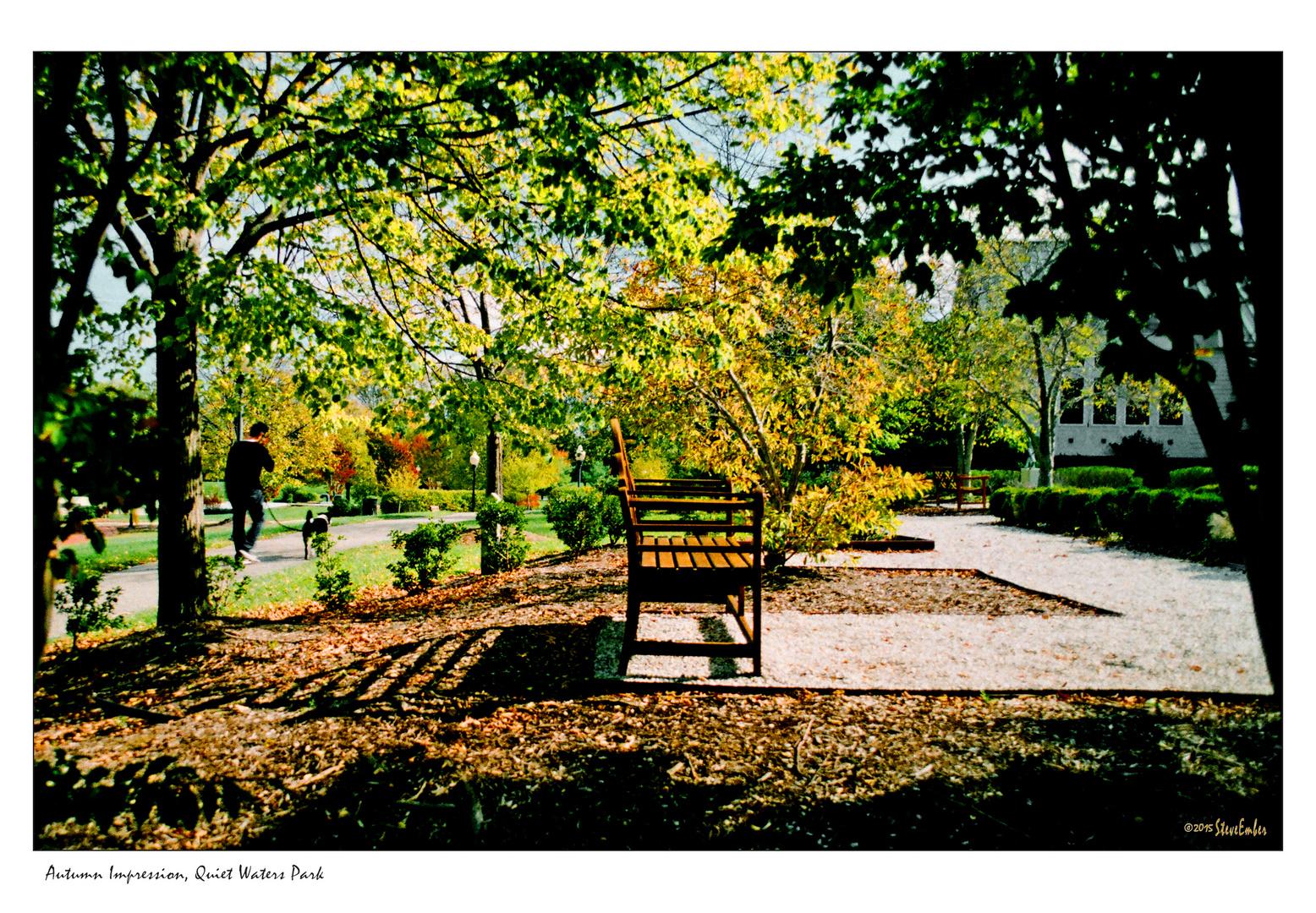 Autumn Impression, Quiet Waters Park