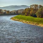Autumn on the river Hron - SK