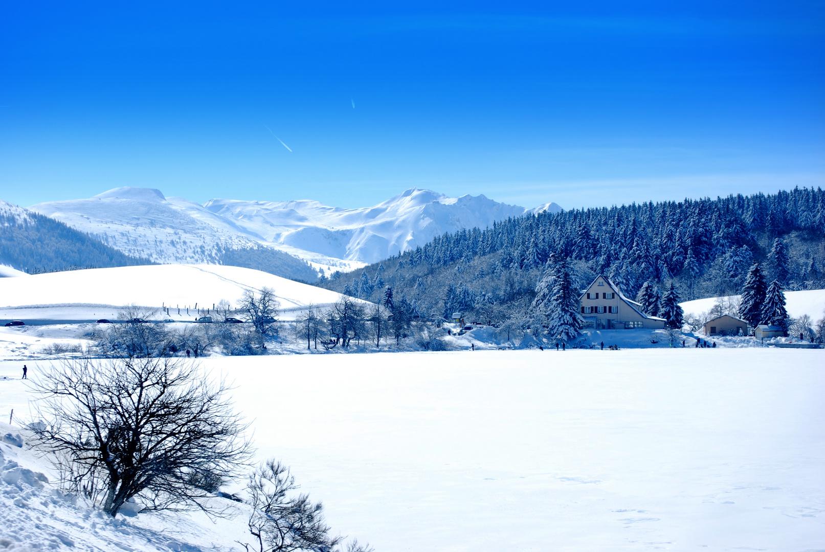 Auvergne - Lac du Guéry