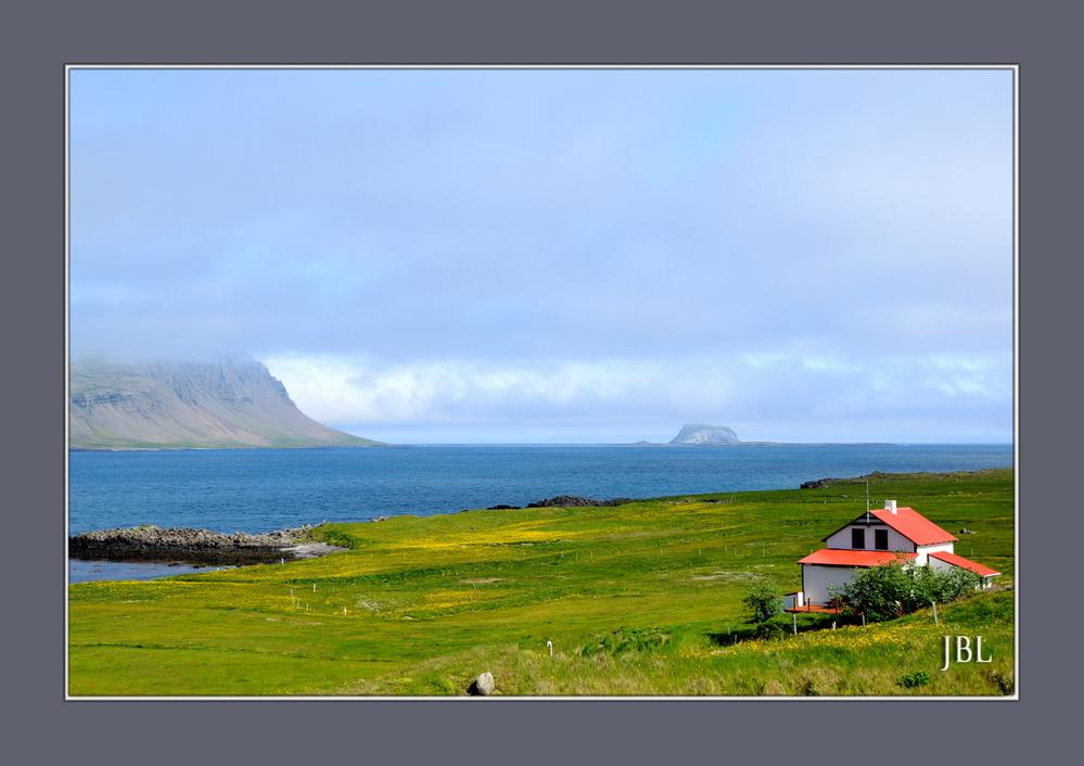 Aux abords du fjord Fáskrúðsfjörður