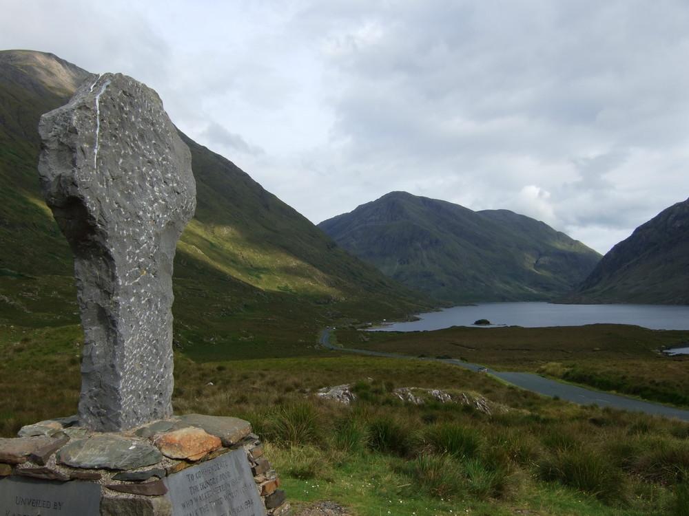 Aux éxilés de la famine d'Irlande...
