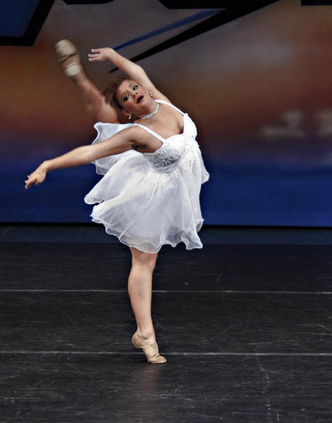 Ava Maria lyrical dancer