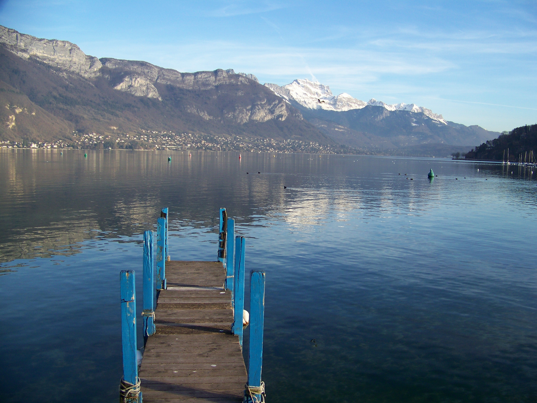 Avancée vers le Lac d'Annecy
