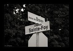 Ave des Braves - Chemin Ste. Foy