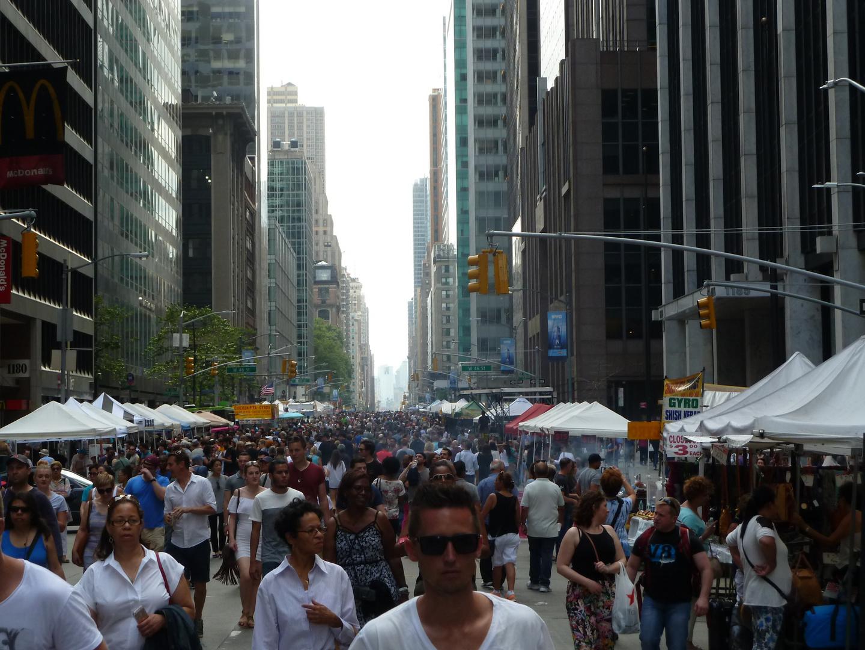Avenida de las Americas NYC