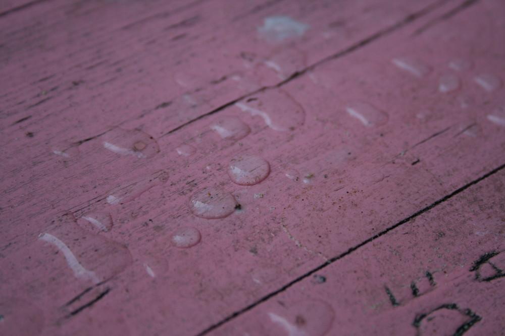 ...aveva piovuto