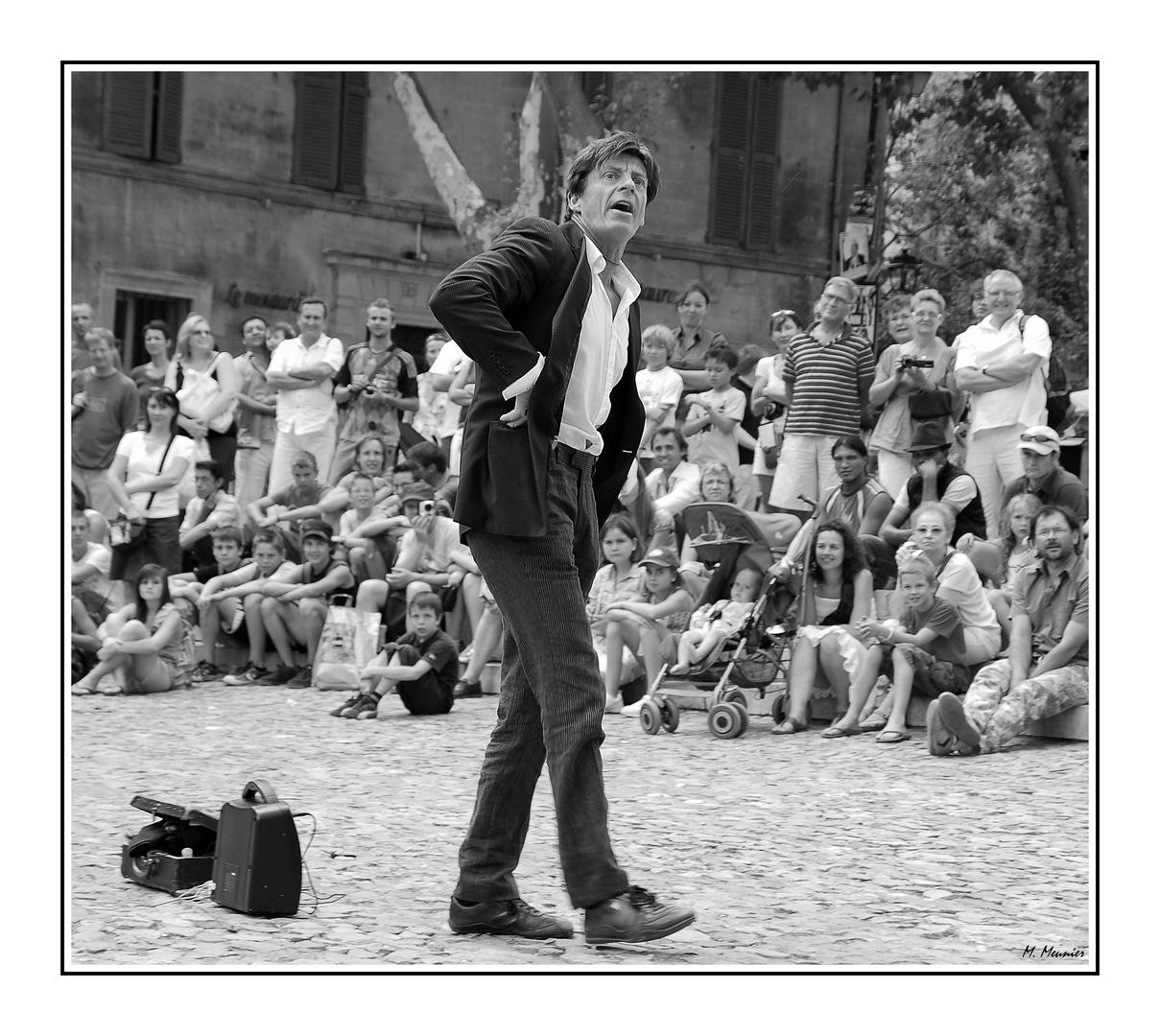 Avignon au temps de son festival