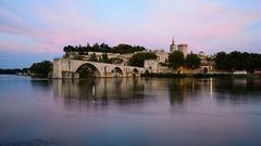 Avignon - Brücke am Abend