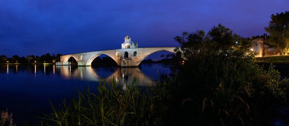 Avignon Brücke Pano
