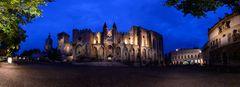 Avignon Papstpalast Pano