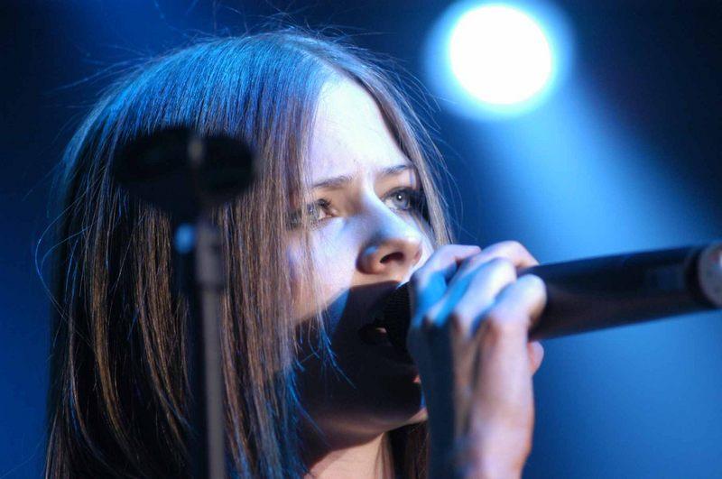 Avril Lavigne hautnah 2