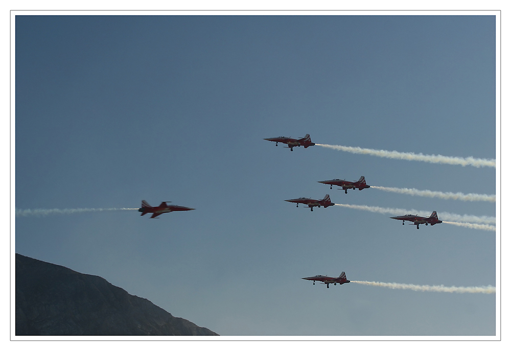 Axalp 2007: Patrouille Suisse III