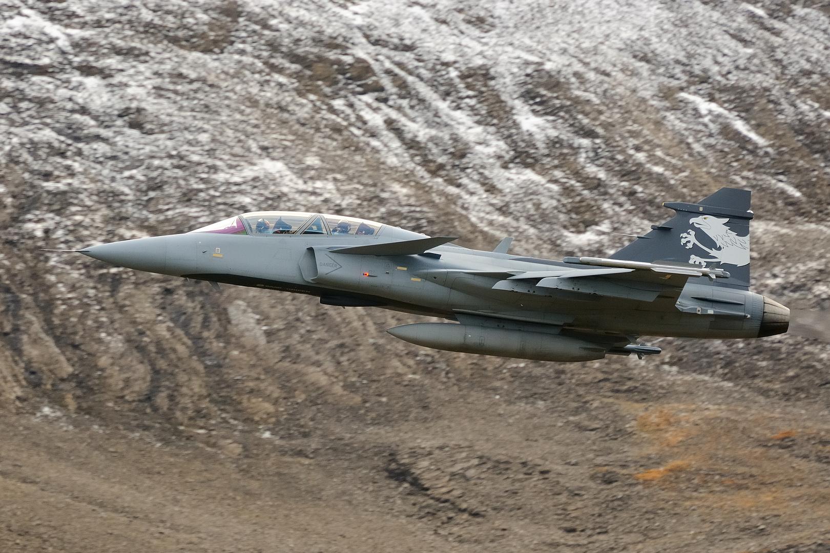 Axalp 2012 - Saab Gripen F