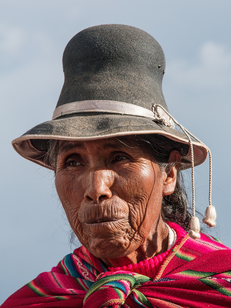 Aymara - Frau
