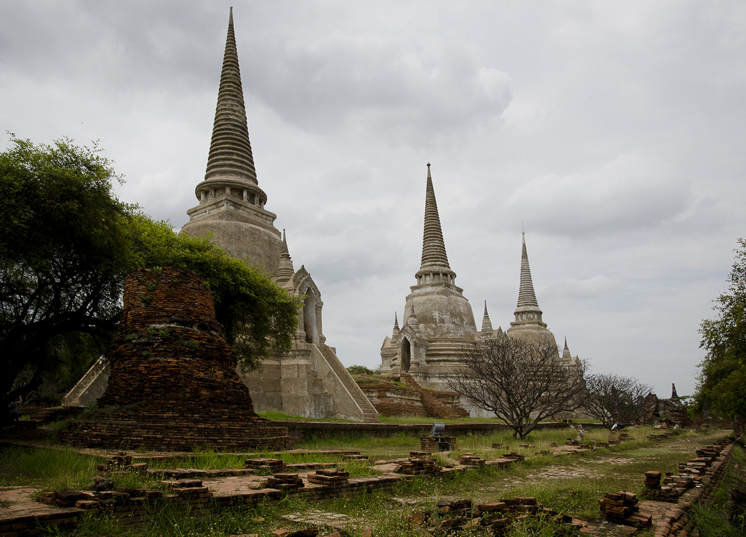 Ayuttaya-Wat Phra Si Samphet