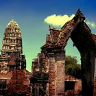 Ayutthaya Old Temple