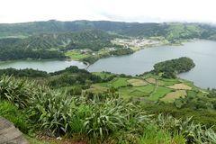 Azoren - Blick auf Sete Cidades