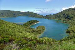 Azoren - Lagoa do Fogo auf Sao Miguel
