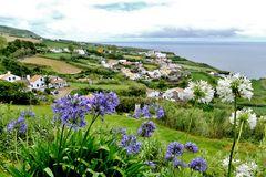 Azoren - São Miguel - Blick vom Miradouro do Pico Vermelho