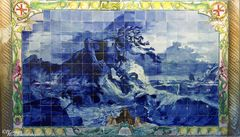 Azulejo Neptun