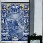 Azulejo sul  muro a Lisbona