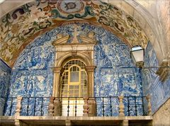 Azulejos a Óbidos.