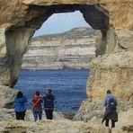 """Azur Window"" auf Gozo"