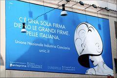 «Azzurro» in Piazza del Popolo, Roma.