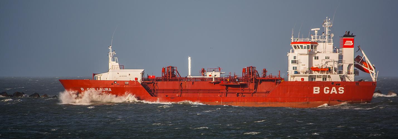 B GAS LAURA / Maasmond / Rotterdam