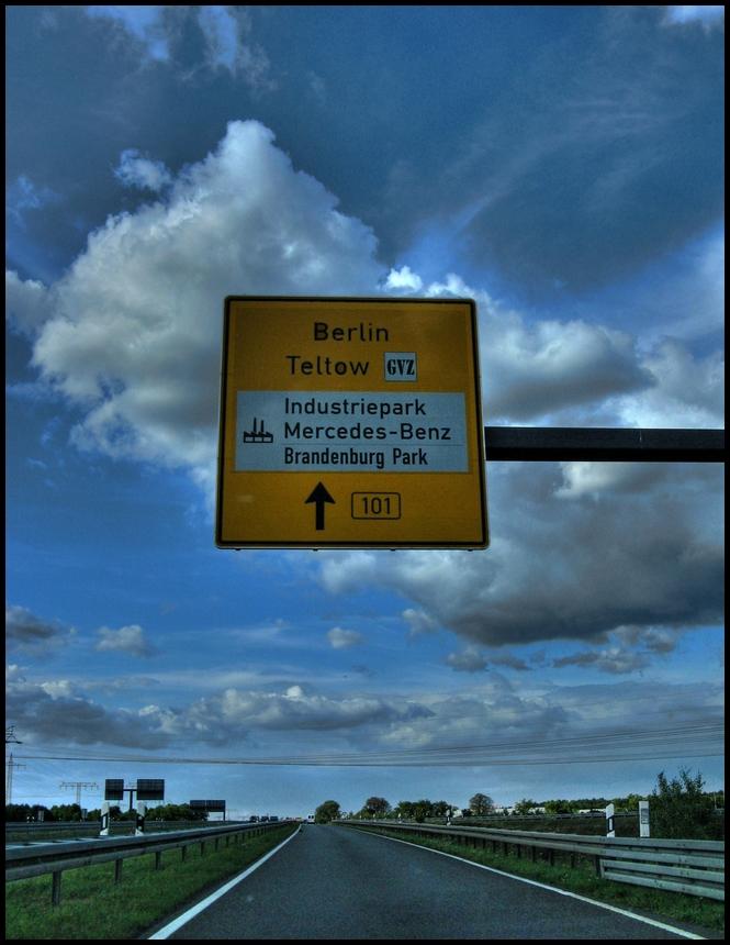 B101 nach Berlin