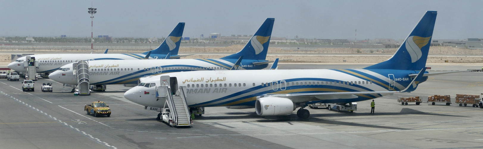 B737-Parade in Muscat