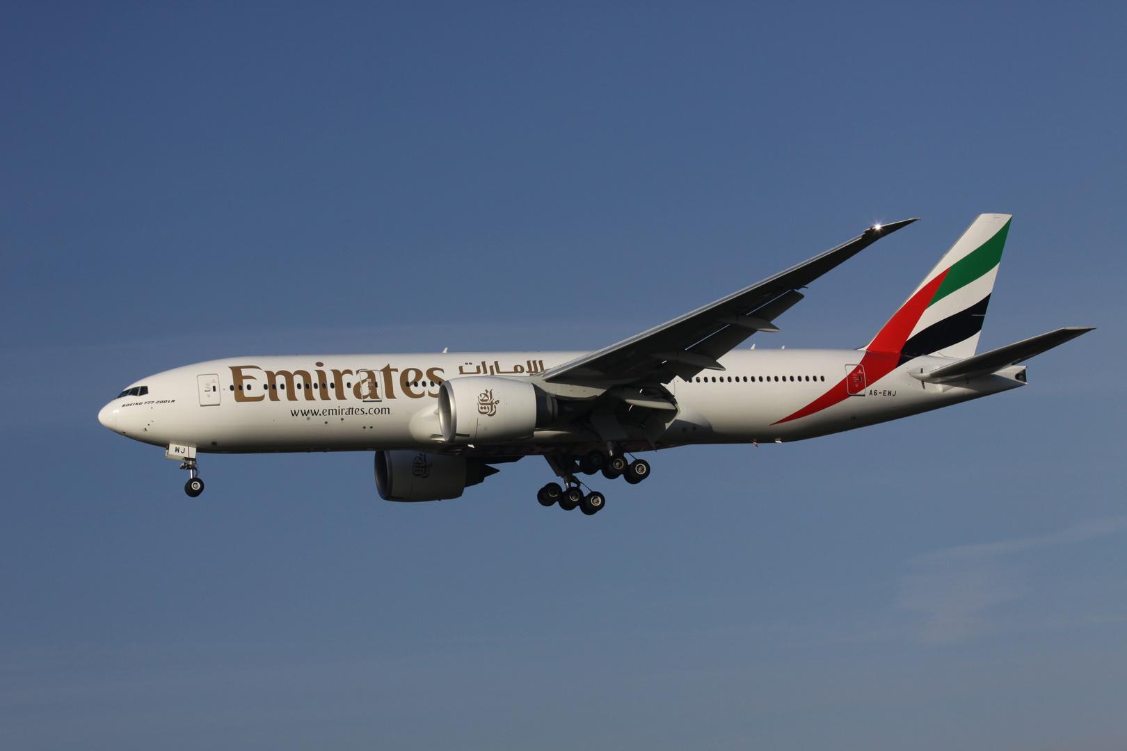 B777-200LR Emirates