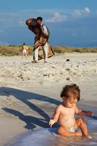 Baby am Strand 2