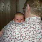 Baby James at 4 weeks