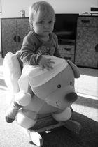 Baby mit Bear