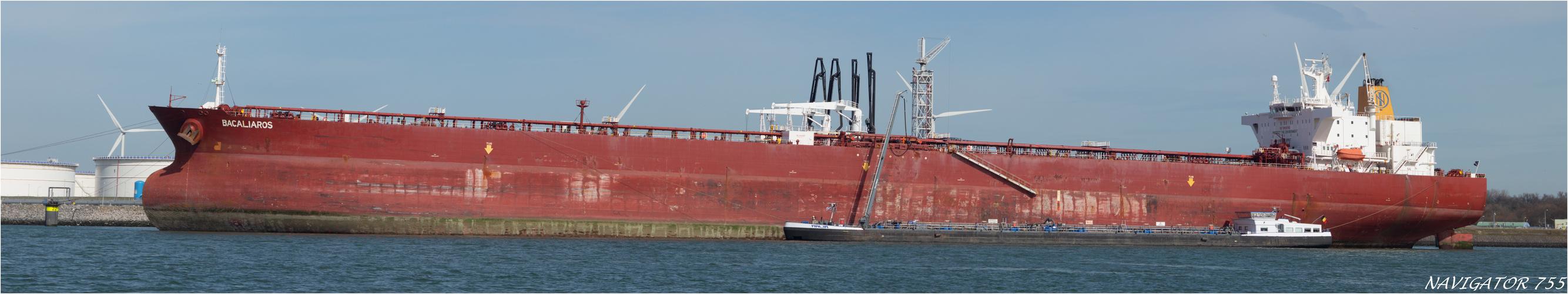 BACALIAROS, Crude Oel Tanker, Rotterdam