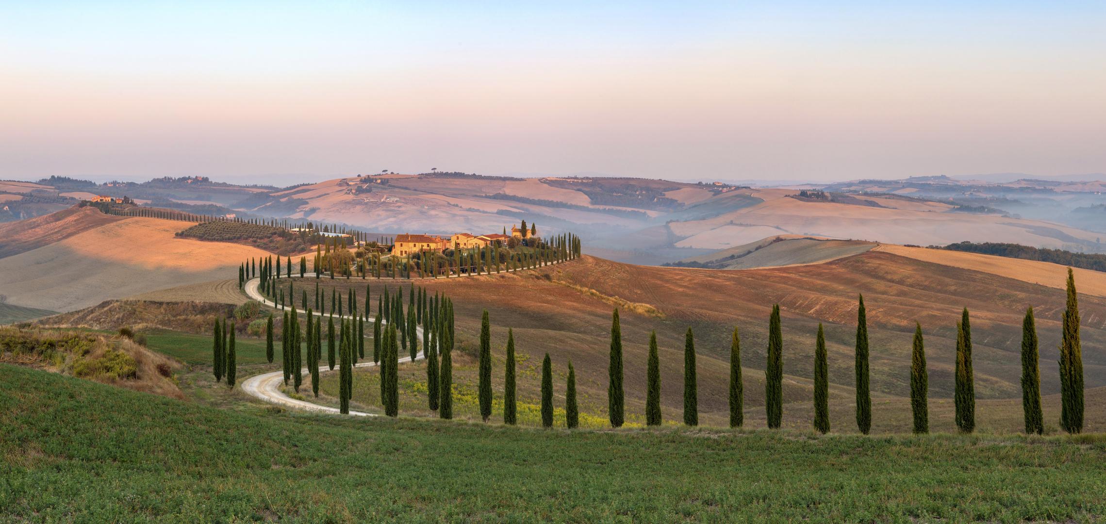 *Baccoleno @ Sonnenaufgangs-Panorama*