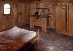Bachritterburg - die Schlafkammer