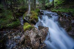 Bachverlauf beim Obernberger See
