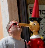 Baciare Pinocchio