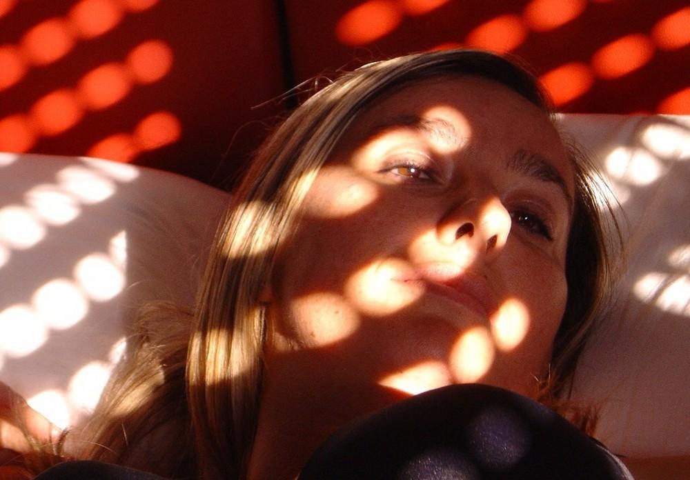 Baciata dal sole