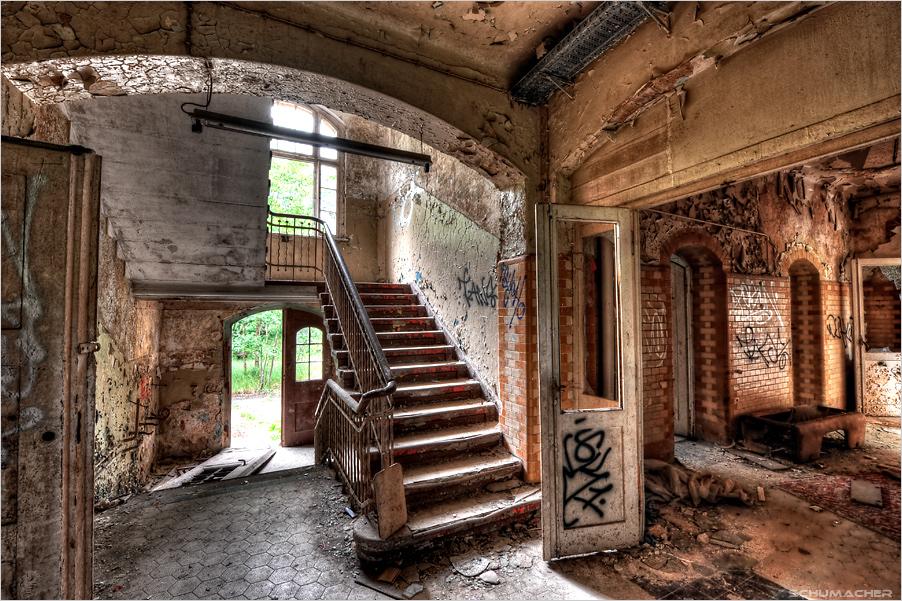 * back door *