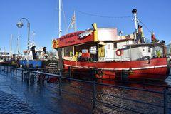 Backfisch-Udo am Alten Strom in Warnemünde hat heute geschlossen