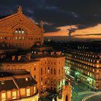 Backside of Opera Garnier
