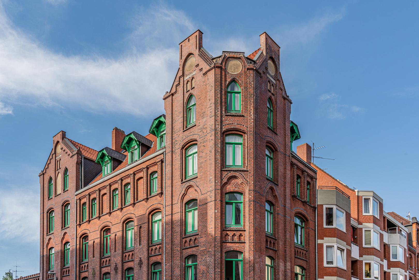 Backsteinbau in Hannover-Linden