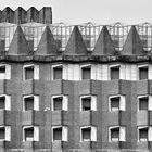 [Backstein]Fassade [en blanco y negro]
