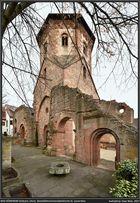 Bad Dürkheim-Seebach (Landkr. Bad Dürkheim), prot. Kirche, Ansicht von Südwest