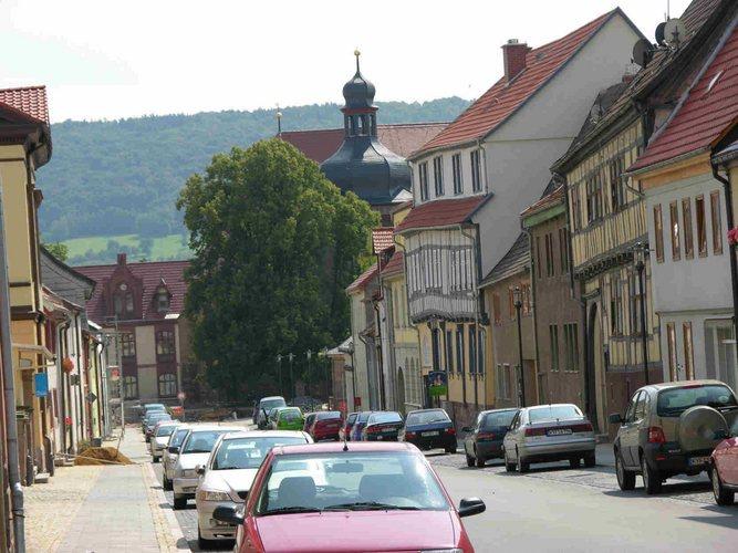 Bad Frankenhausen Bilder einer kleinen Stadt