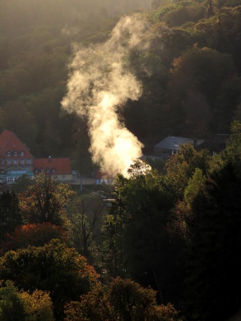 Bad Harzburg im Oktoberdunst