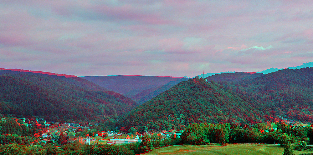 Bad Lauterberg 3D Ana-ROT/CYAN Brille